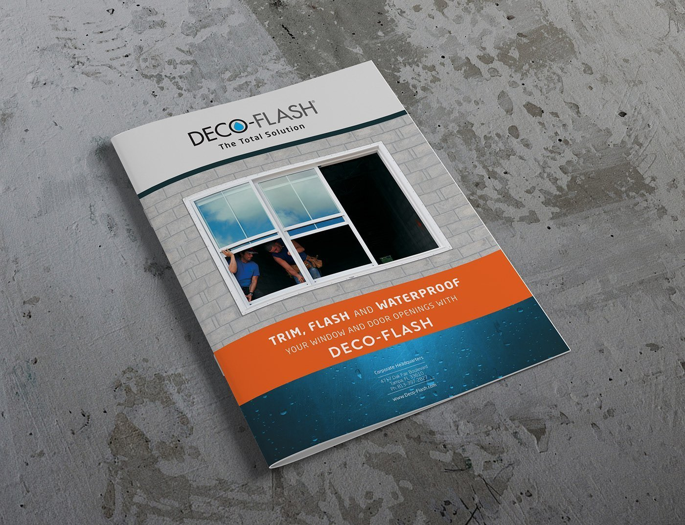 Deco-Flash - Product Brochure cover