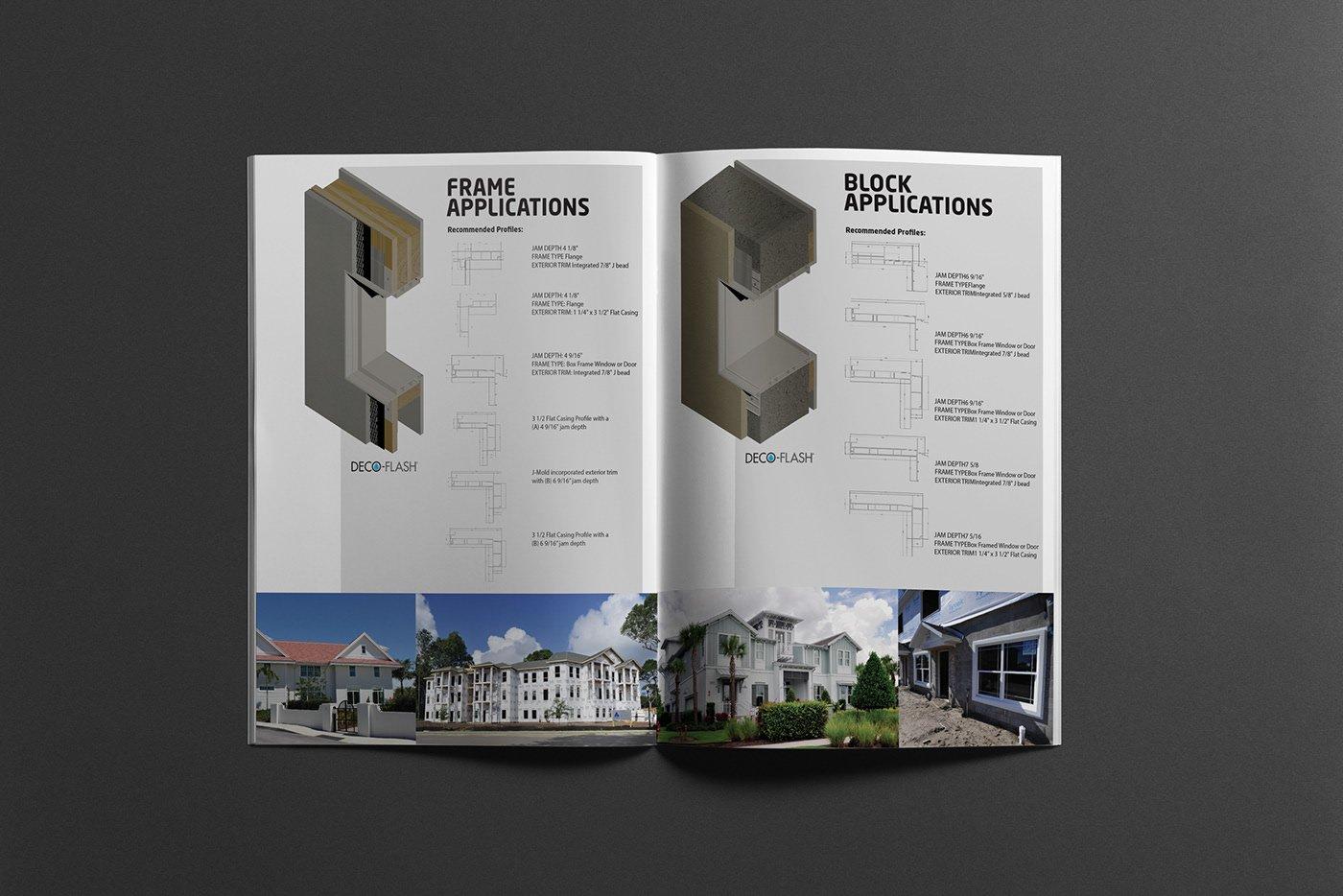 Deco-Flash - Product Brochure open