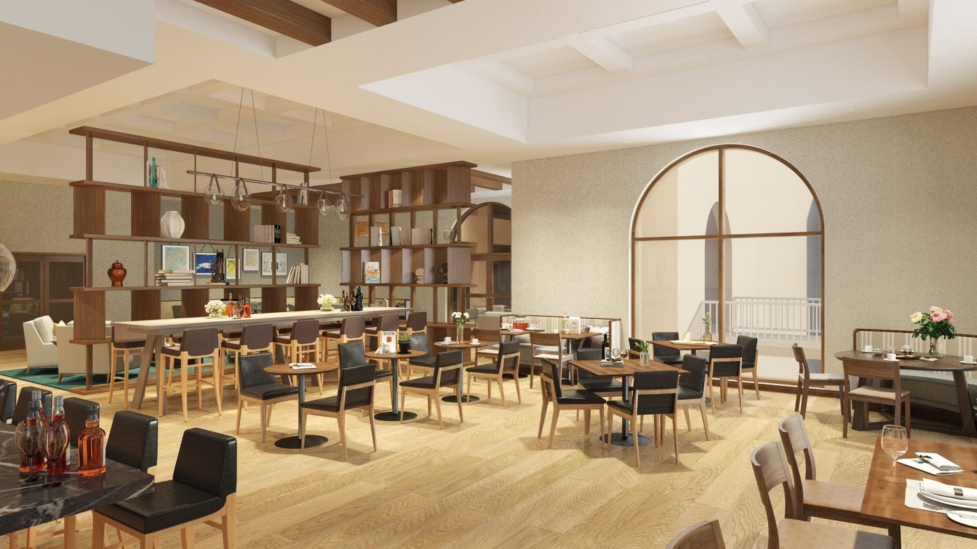 Omni Resort Render - Restaurant