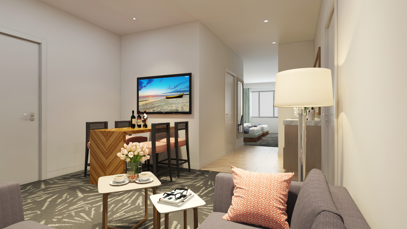 Omni Resort Render - Suites