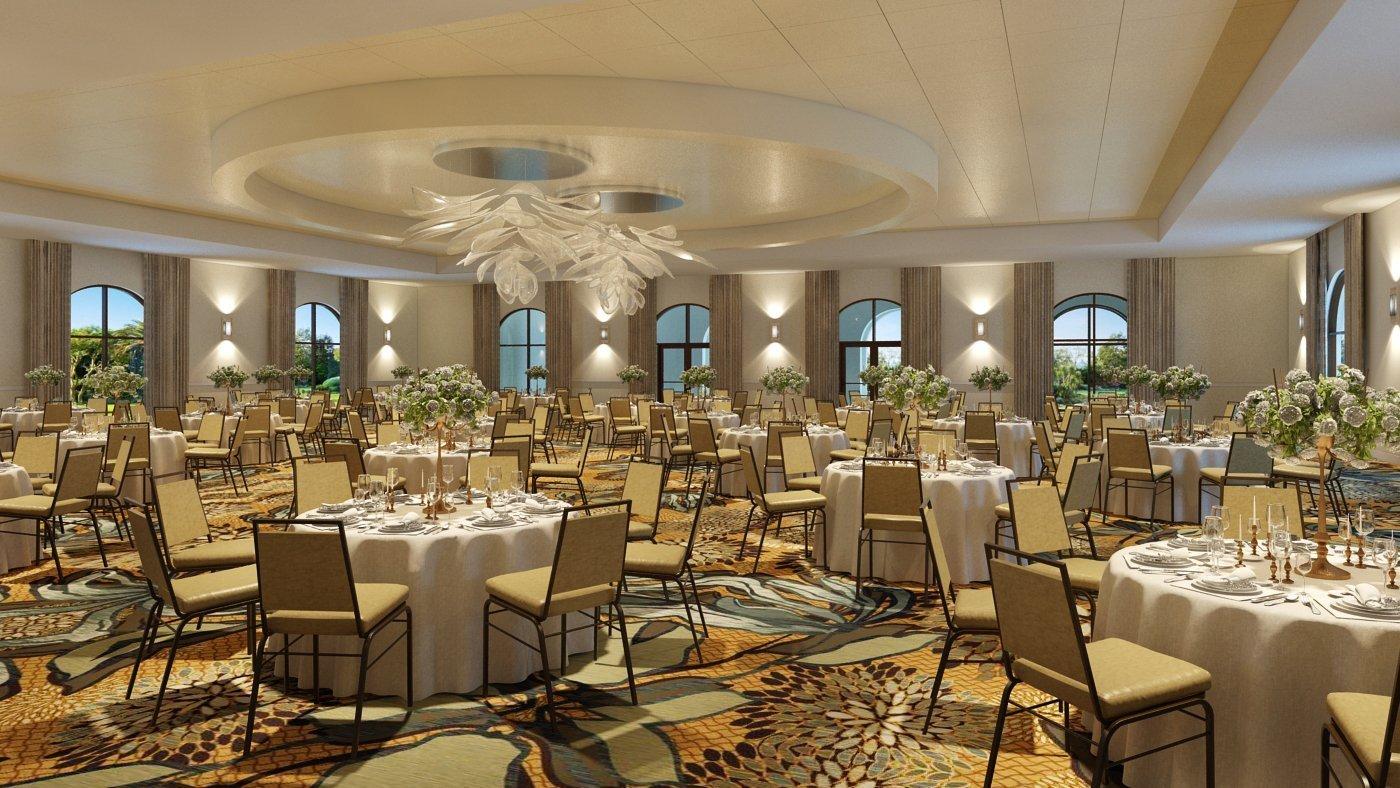 Omni Resort Render - Weding Hall