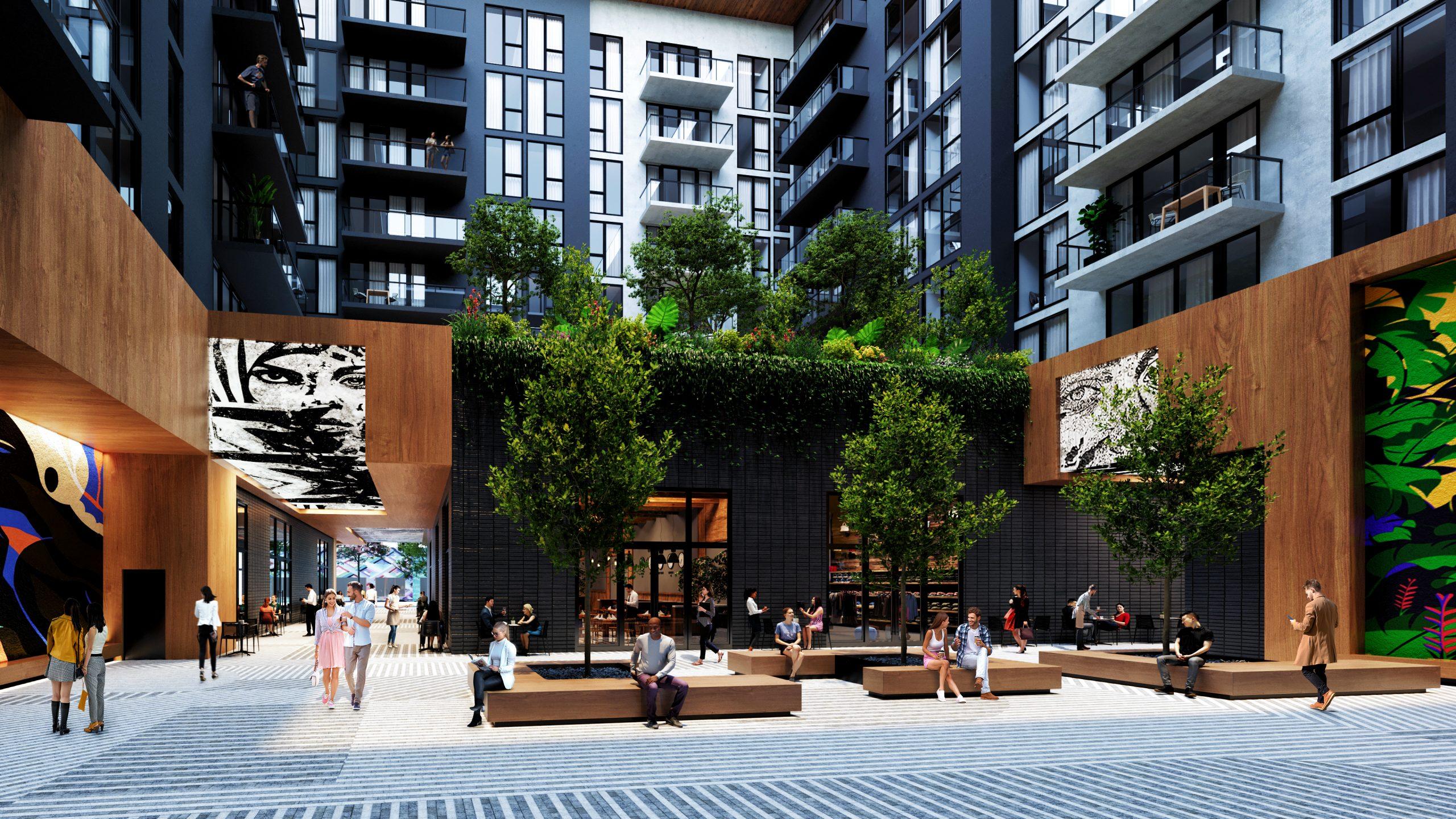 Society Wynwood - Courtyard